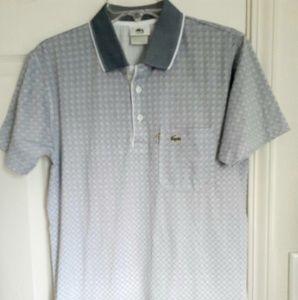 LACOSTE Mens blue polo shirt 3 (s)